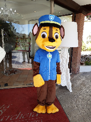 Mascotte paw patrol cheese